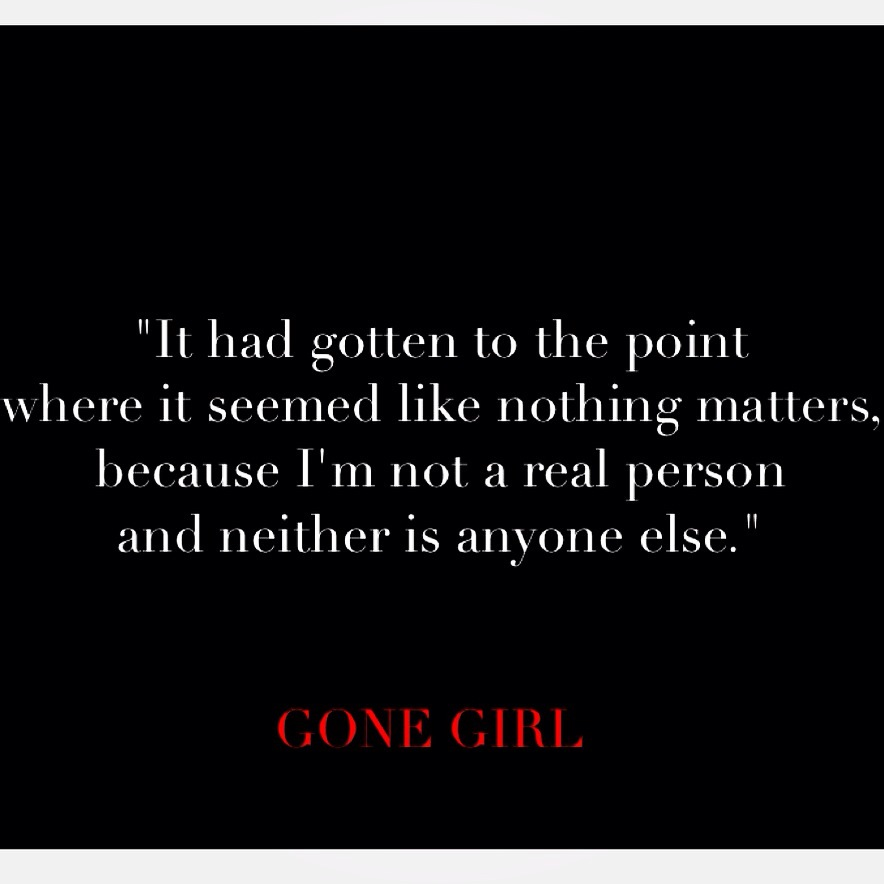 Book Quotes: Gone Girl III | Words of Margaux